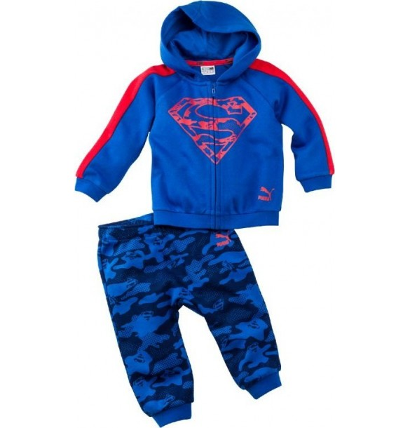 Puma JR Justice League Superman 592577-08