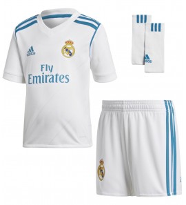 17/18 Real Madrid Home Mini Kit B31118