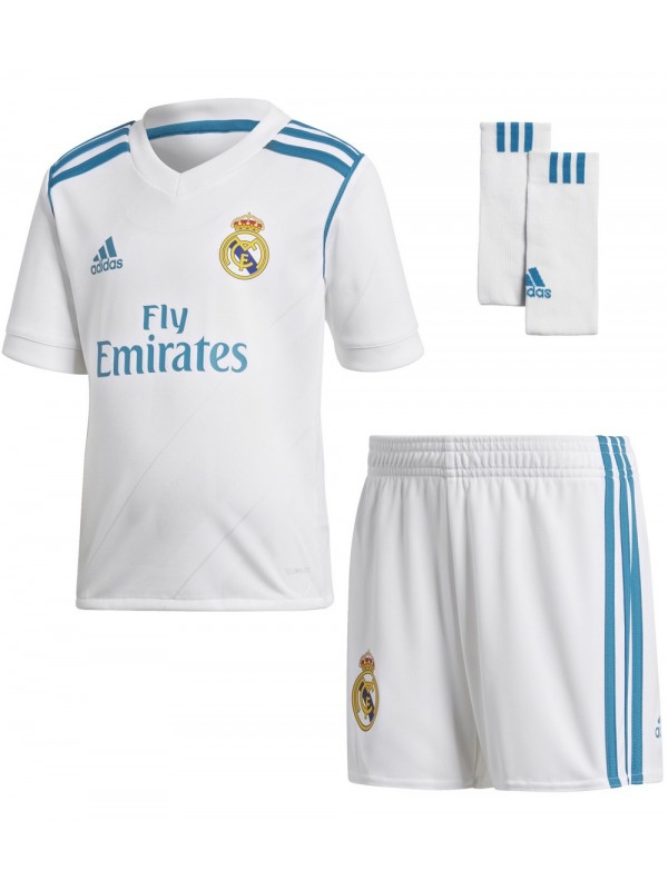 Adidas 17/18 Real Madrid Home Mini Kit B31118