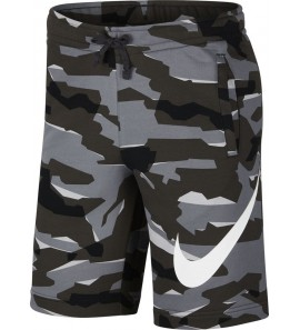 Nike M NSW CLUB CAMO SHORT FT AQ0602-065
