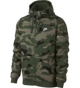 Nike Clib Camo Hoodie FZ BB AJ2105-325