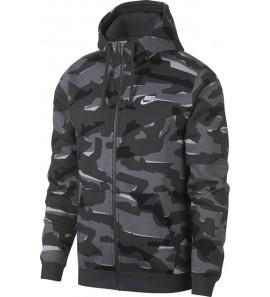 Nike M NSW CLUB CAMO HOODIE FZ BB AJ2105-065