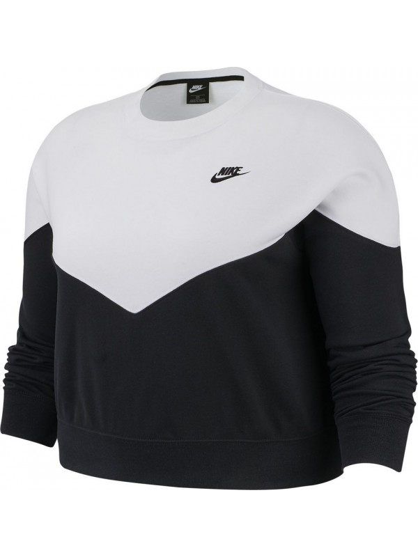 Nike W Heritage Crew Fleece Plus BV0300-010