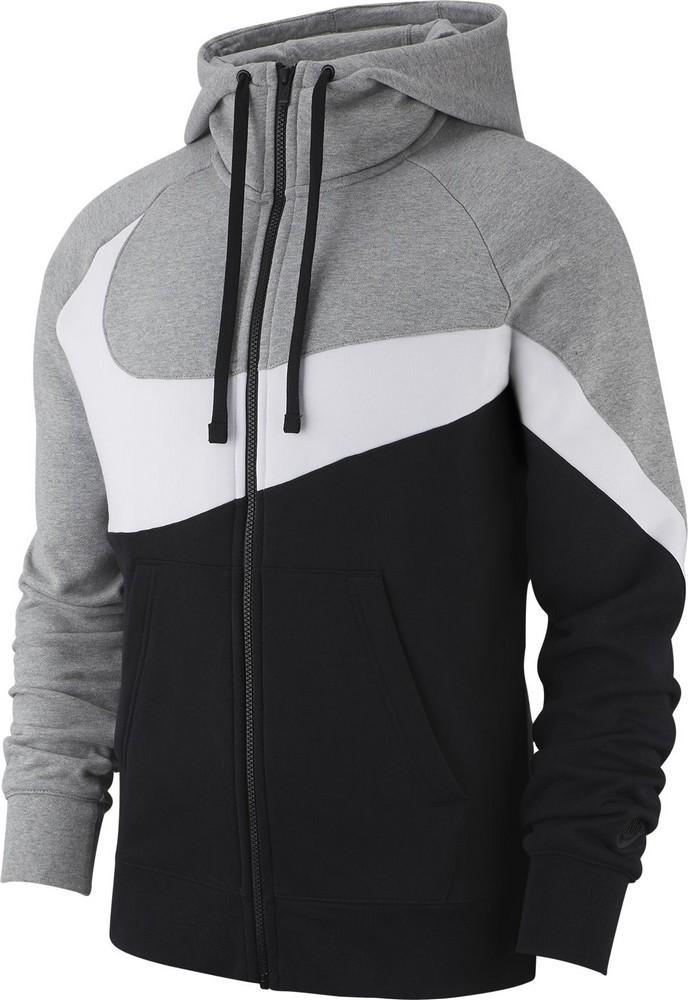 cf212cffebd9 Sweatshirt Nike M NSW HBR HOODIE FZ BB STMT BQ6458-063