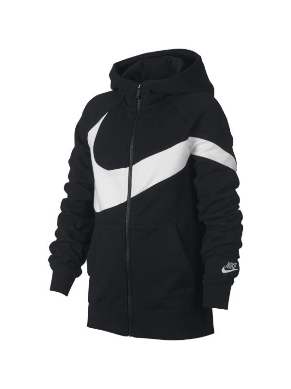 636296a90 Track Jacket Nike B NSW HBR HOODIE FZ FT STMT BV0789-010