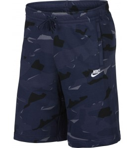 Nike M NSW CLUB CAMO SHORT FT AR2917-410