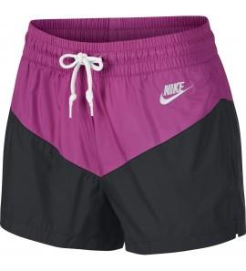 Nike W NSW HRTG SHORT WVN AR2362-010
