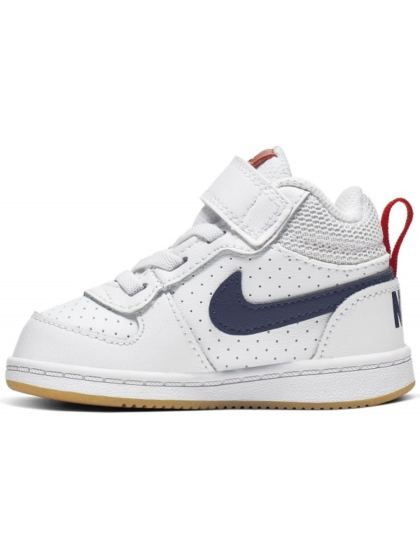 Nike COURT BOROUGH MID (TDV) 870027-107
