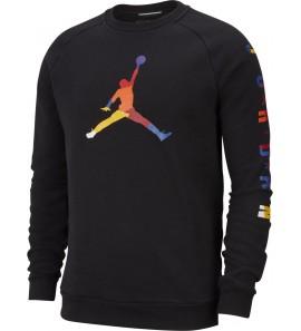 Nike M J SPRT DNA HBR FLEECE CREW AV0044-010