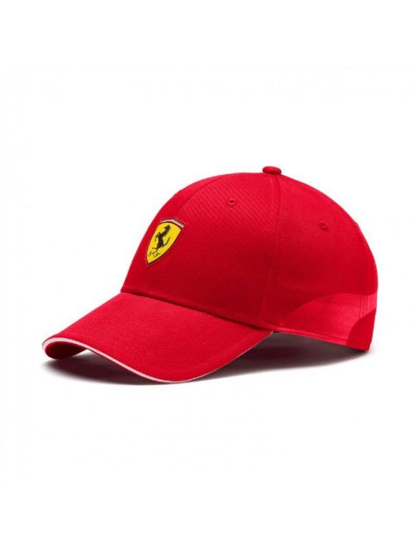 Puma Ferrari baseball Rouge 022385-01