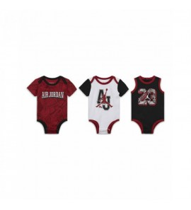 Air Jordan JDB 3 PACK BODYSUIT SET 55A428-W0G-EH