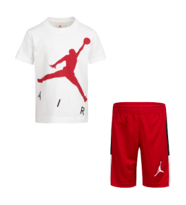 Air Jordan JDB BIG AIR TEE & SHORT SET 65A390-U9H-EH