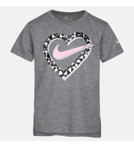 Nike NKG REBEL PREP HEART SS TEE 36G919-GEH