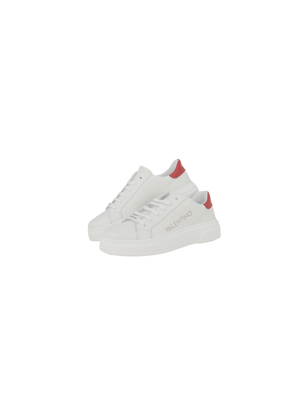 VALENTINO SNEAKERS man 92190698-WHITE/RED